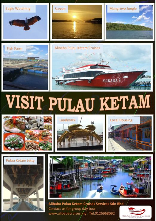 Pulau Ketam Day Tour